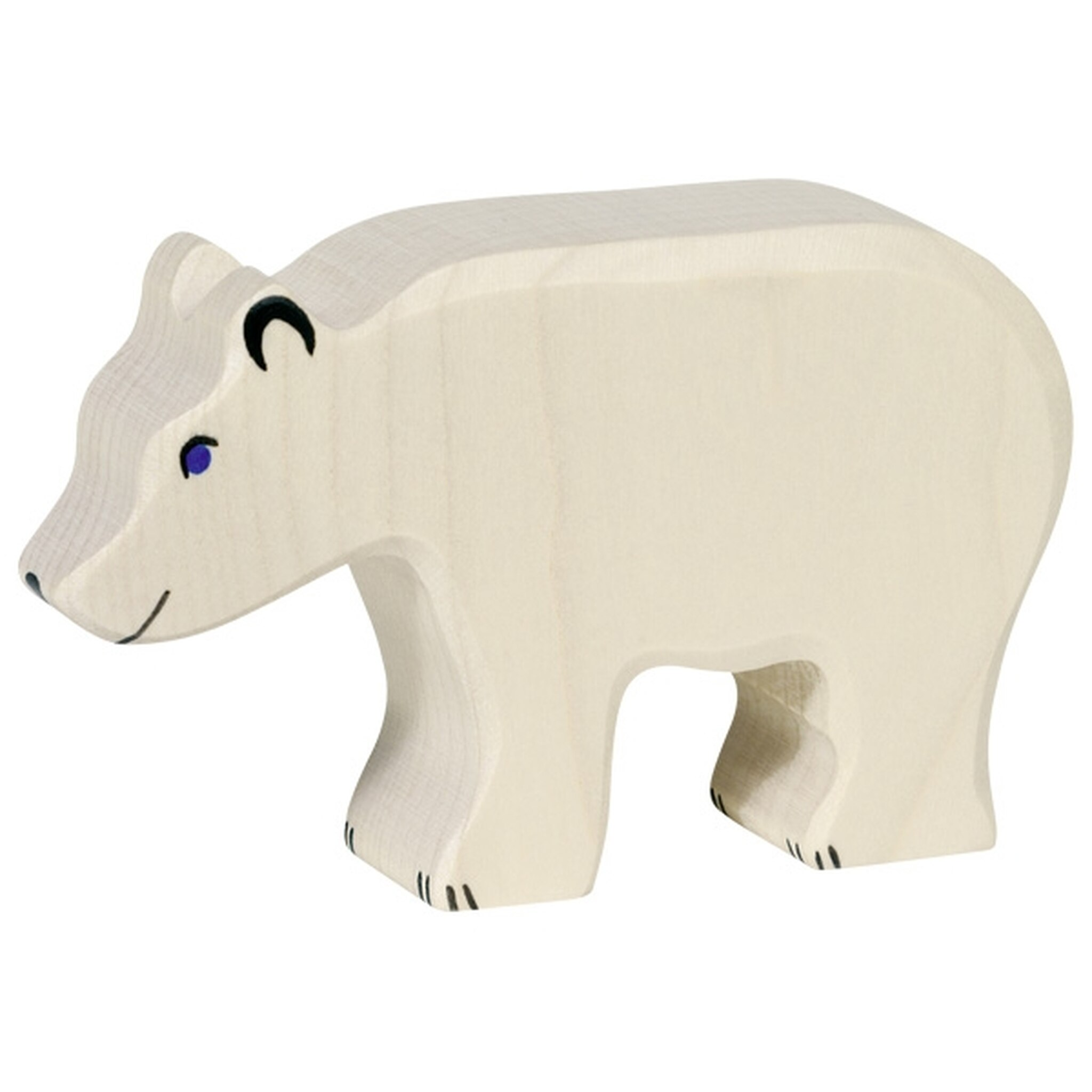 Holztiger Small Polar Bear Head Down Image