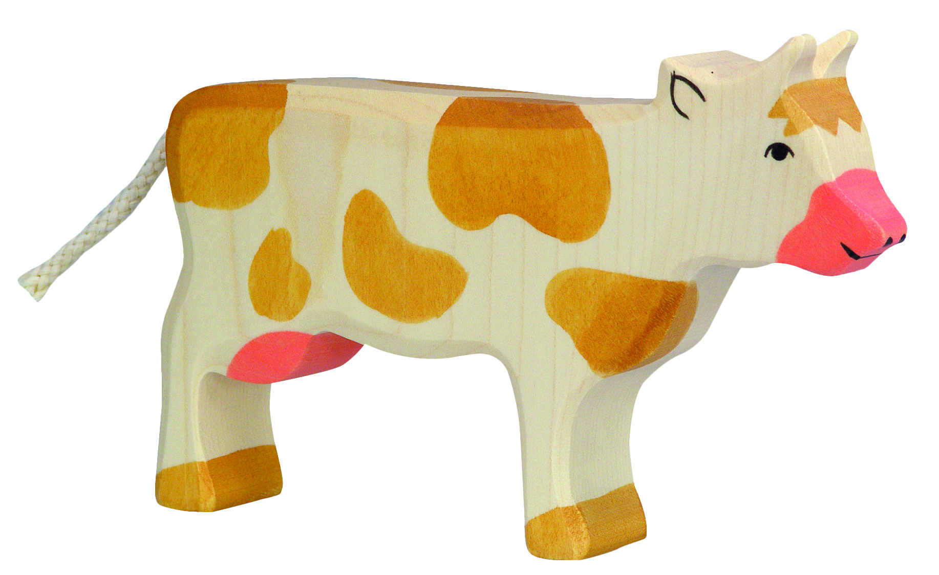 Holztiger Standing Cow Brown Image