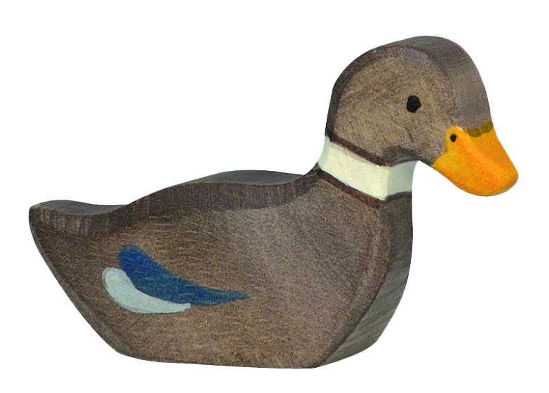 Holztiger Duck Swimming Image