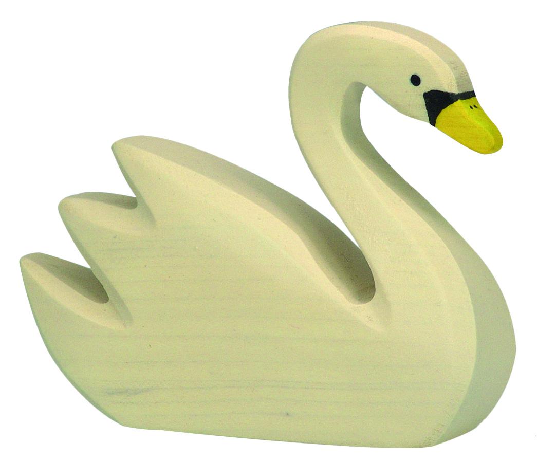 Holztiger Swan Swimming Image
