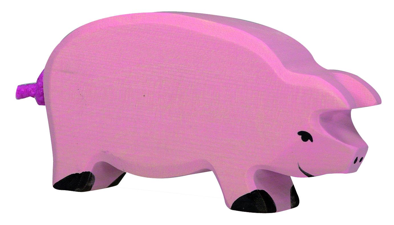 Holztiger Pig Head Down Image