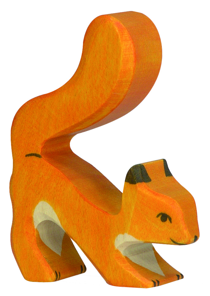 Holztiger Orange Squirrel Tail High Image