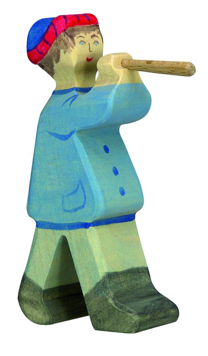 Holztiger Shepherd with Flute Image