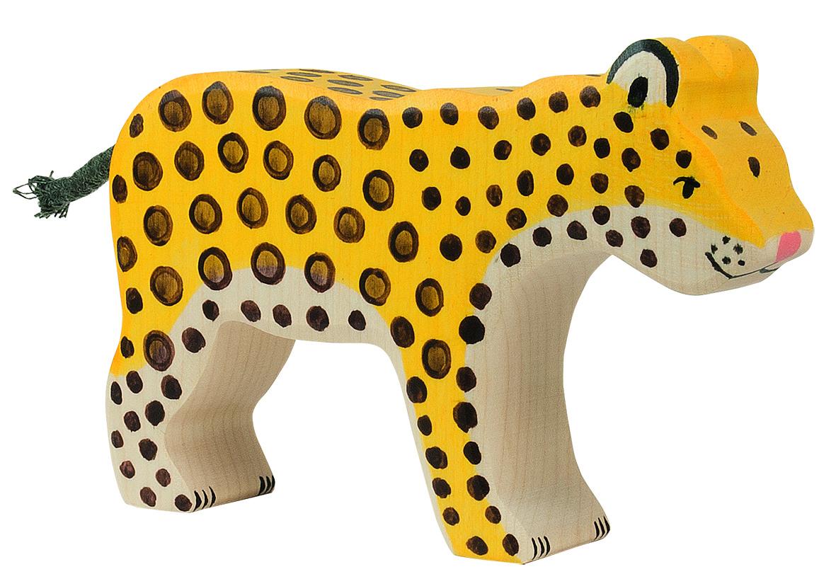 Holztiger Leopard Image