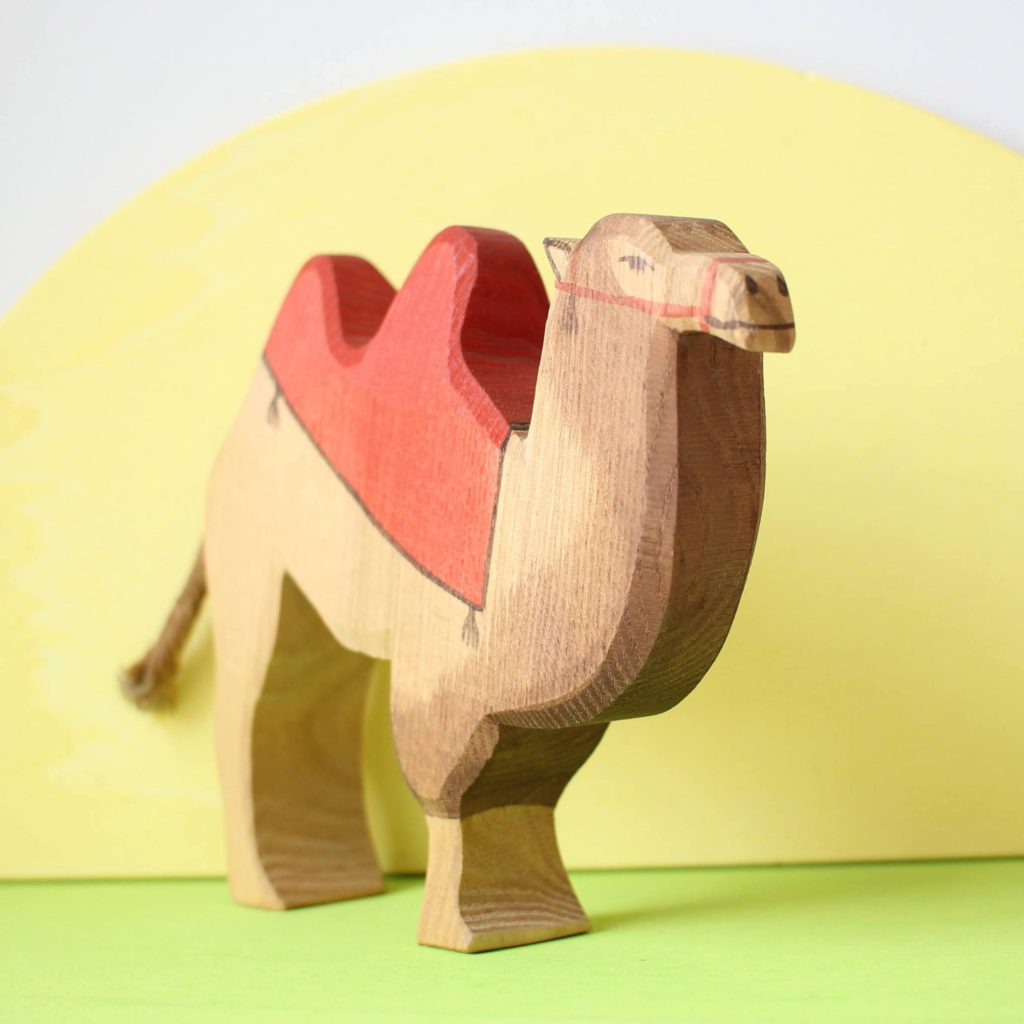 Ostheimer Camel with red Saddle